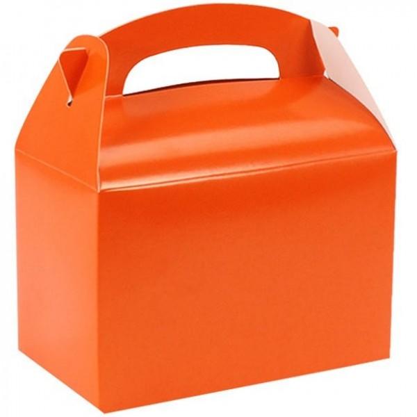 Geschenkbox uni orange