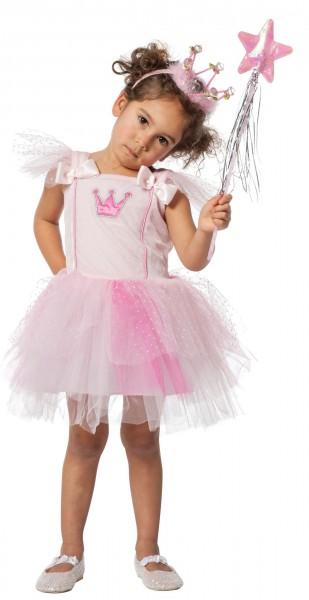 Little pink fairy child costume