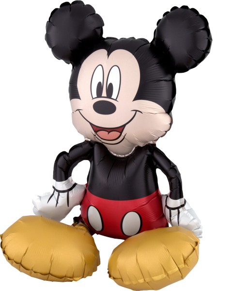 Sitzender Mickey Mouse Folienballon