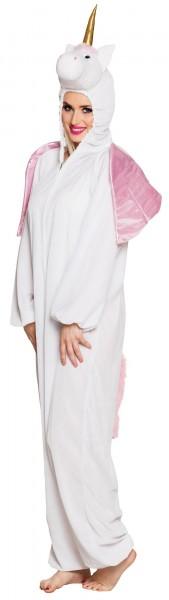 Pluszowy kostium przeznaczenia jednorożca