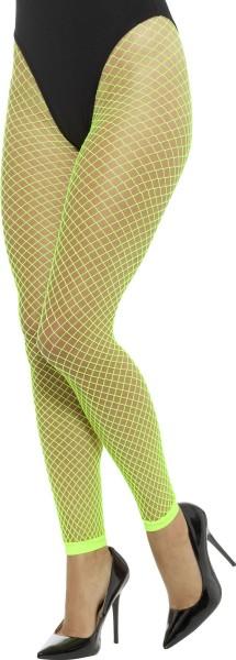 Grüne Gesa Neon Netzstrumpfhose