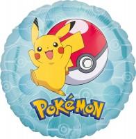 Folienballon Pokémon Happy Pikachu