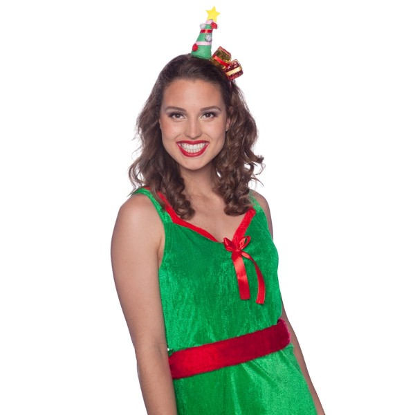 Haarreif Weihnachtsbaum mit Geschenken