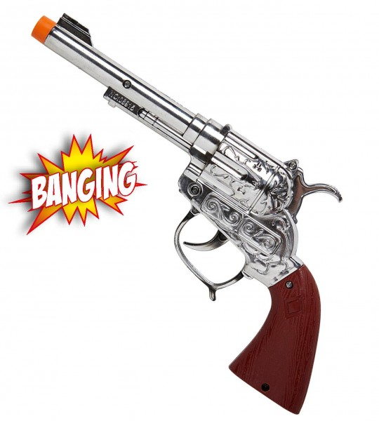 Cowboy sheriff pistol with sound effect