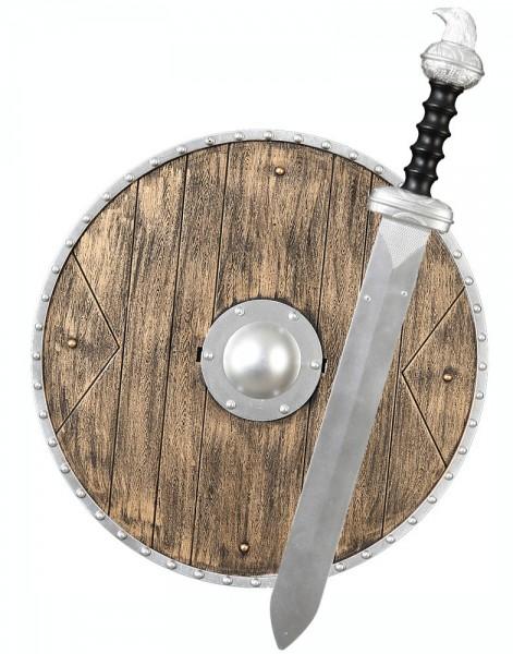 Ensemble d'armes médiévales 2 pièces