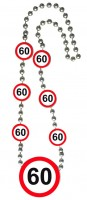 Verkehrsschild 60 Halskette