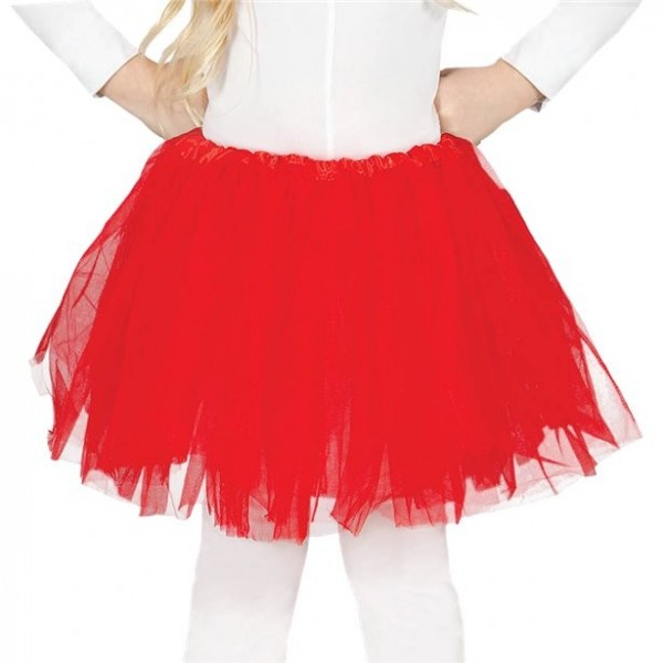 Rotes Tutu Arabella für Kinder