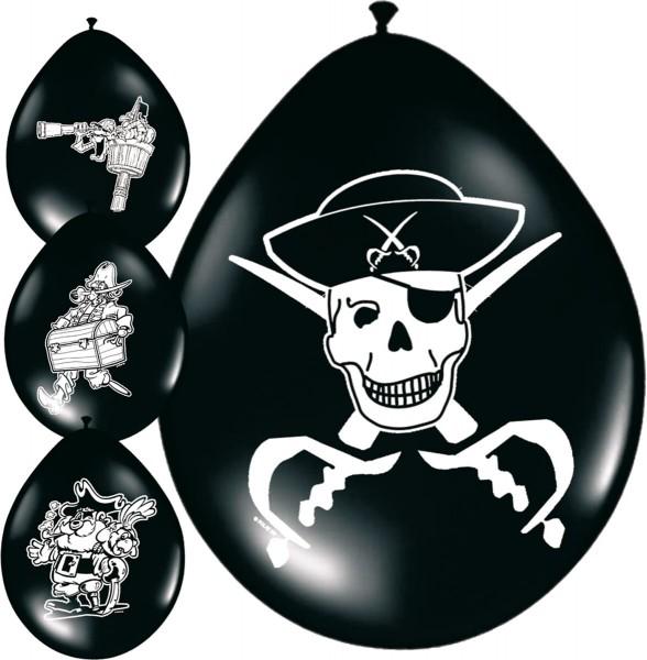 Pirates Sea Latexballons 8 Stk