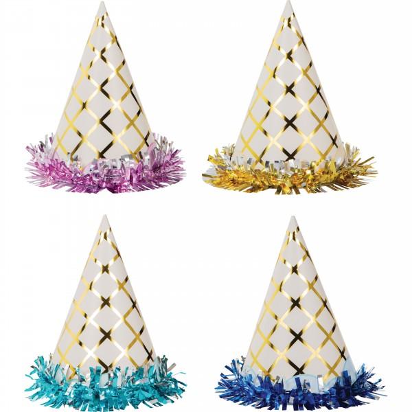8 Eiszauber kids party hats