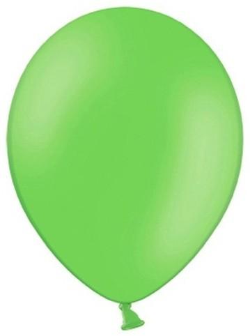 100 ballons de fête vert pomme 29cm