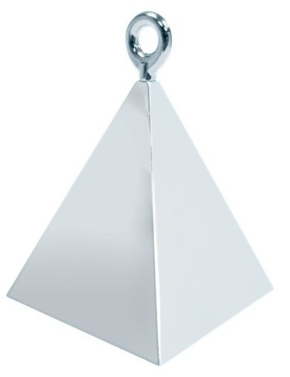 Poids ballon pyramide argent 150g