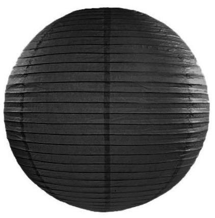 Lampion Lilly negro 35cm