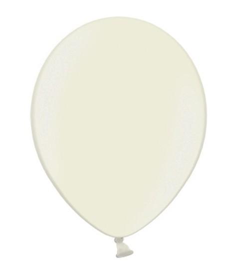 100 Ballons Metallic Ivory 12cm