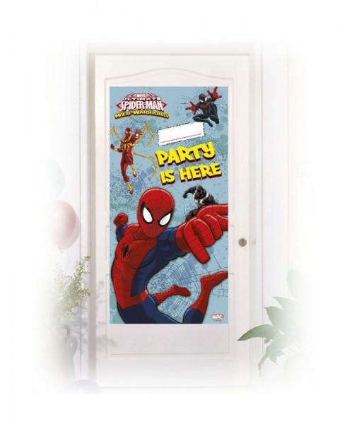 Spiderman Web Warriors Türposter 152 x 76cm