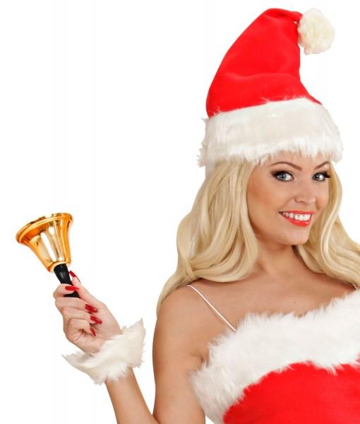 Campana dorada Navidad 13cm