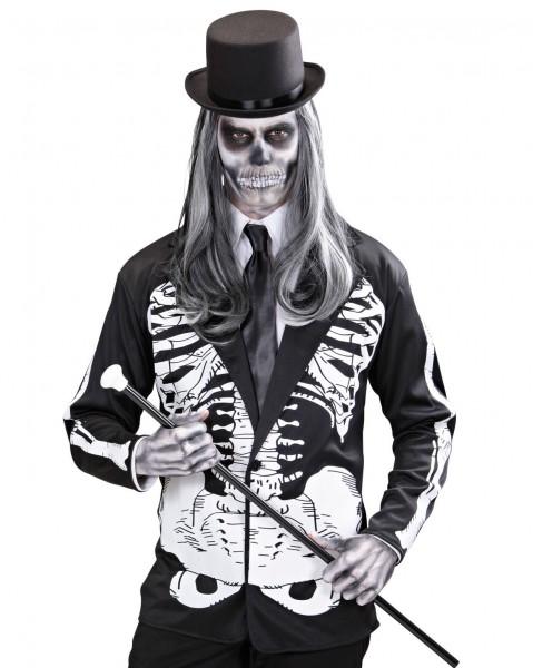 Skelett Knochen Jacket Für Männer