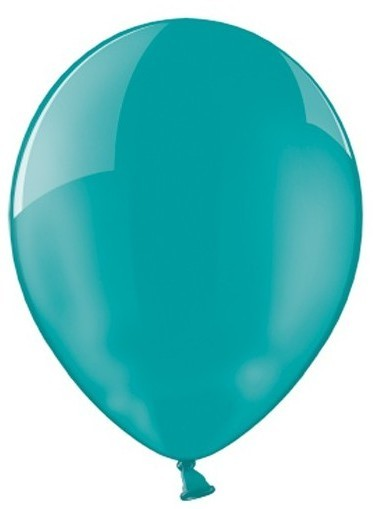 100 Ballons in Petrol 30cm