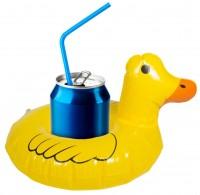 Aufblasbarer Enten Getränkehalter