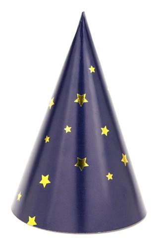 6 Partynacht Hüte 11cm