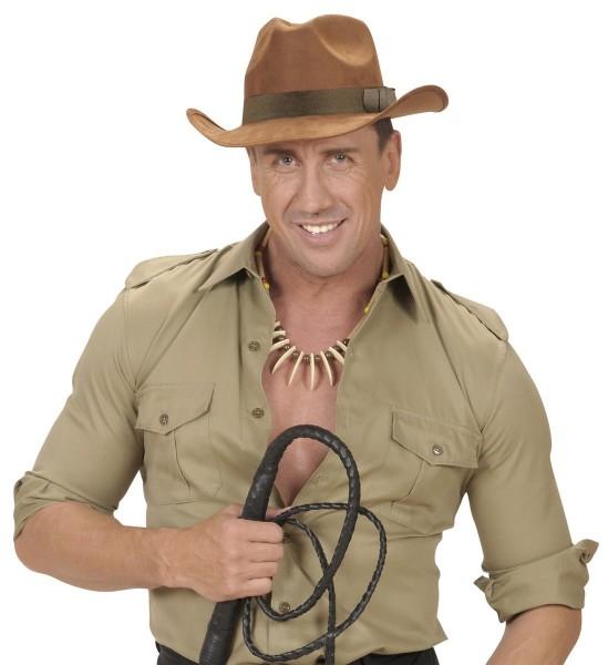 Brauner Ranger Cowboyhut Aus Stoff
