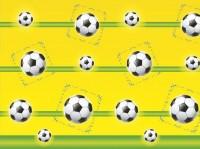 Fußball WM Tischdecke 1,8 x 1,2m