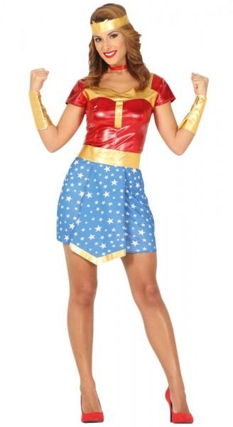 Superheldin Damenkostüm Strong Woman