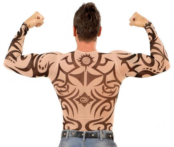 Tattoo shirt tribals men