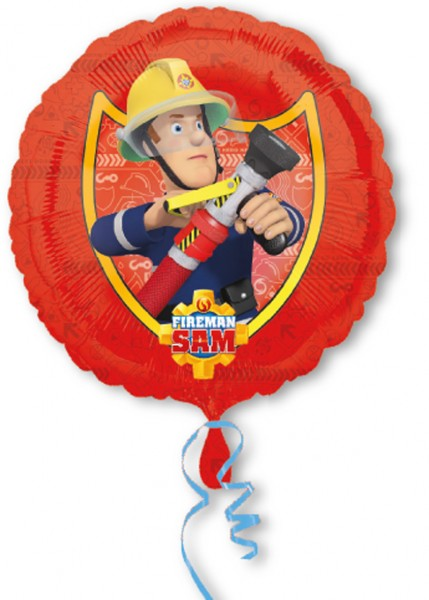 Foil balloon firefighter Sam