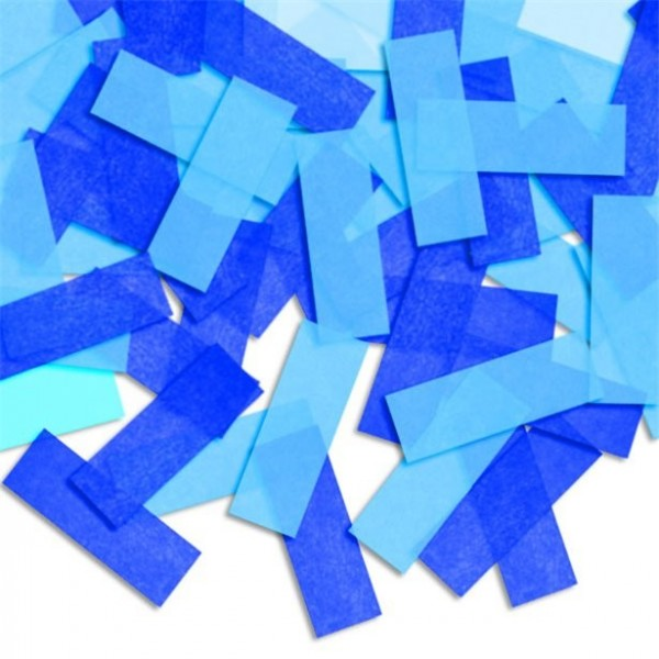 Blue pinata confetti
