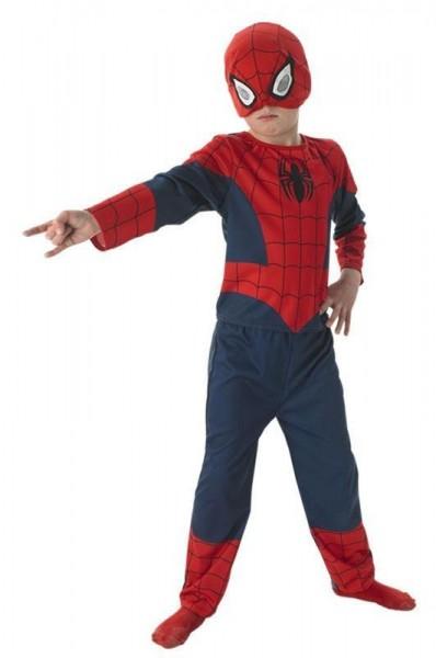 3-piece Spiderman children's costume premium