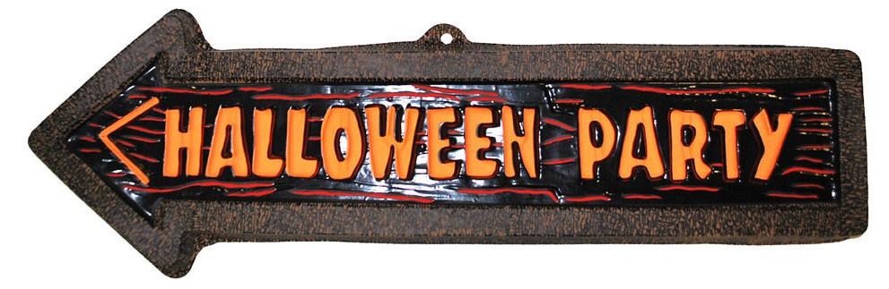 Wegweiser Halloween Party Accessoires Horror