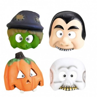 Halloween Kids Party Lustige Gruselmaske 4 Stück