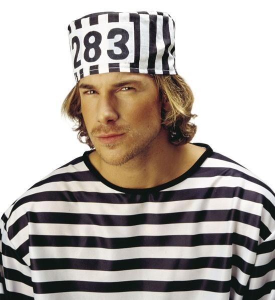 Sträflings Verbrecher-Mütze