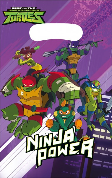8 Ninja Turtles Adventures Tüten