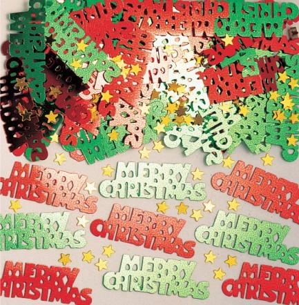 Merry Christmas metallic Streudeko 14g
