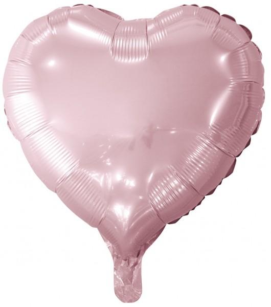 Ballon aluminium rose coeur joy 45cm