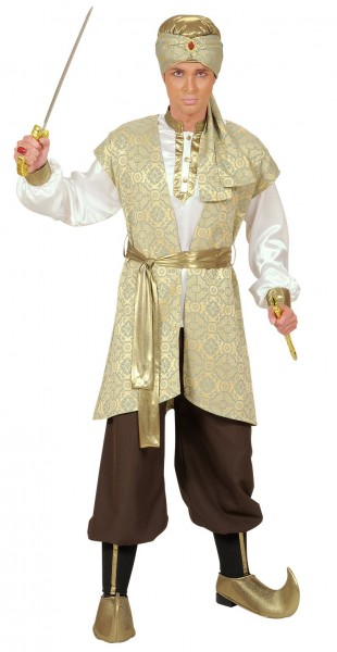 Persischer Prinz Herrenkostüm Gold