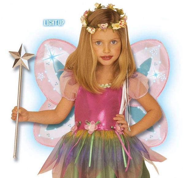 Leuchteffekt Elfen Feen Flügel