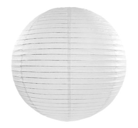 Papierlampion in Weiß 35cm 1