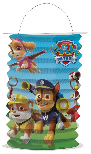 Paw Patrol Friends trainen lantaarn 15 x 25cm