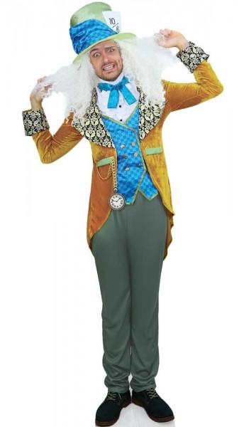 Edles Hutmacher Kostüm für Herren Deluxe
