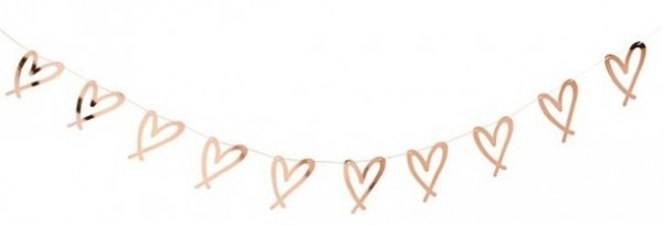 Brides Babes Hearts Garland 2m