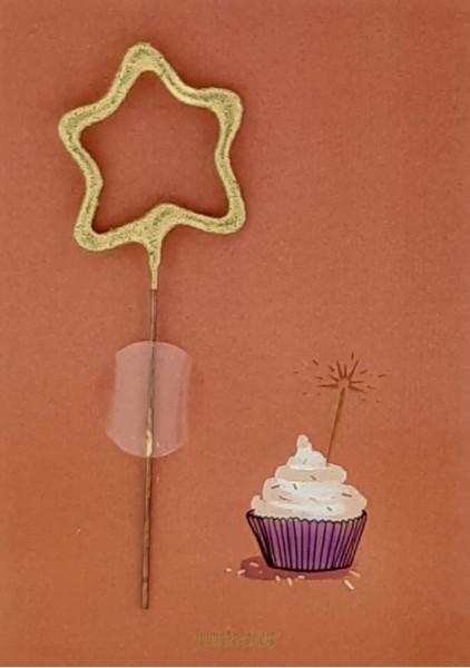Cupcake Wondercard arancione