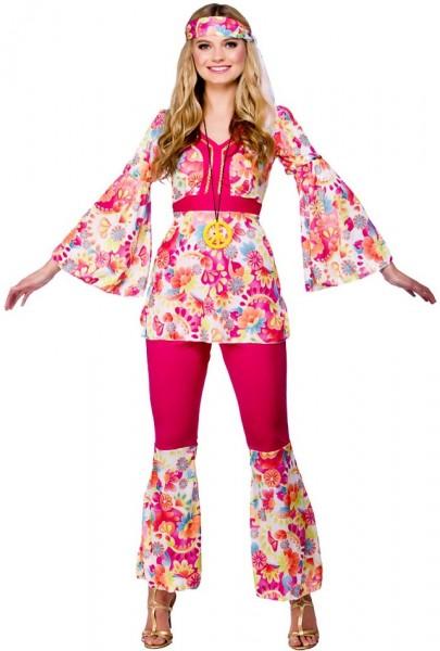 Costume femme hippie Mia