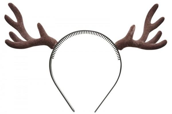 Diadema de cuerno de reno