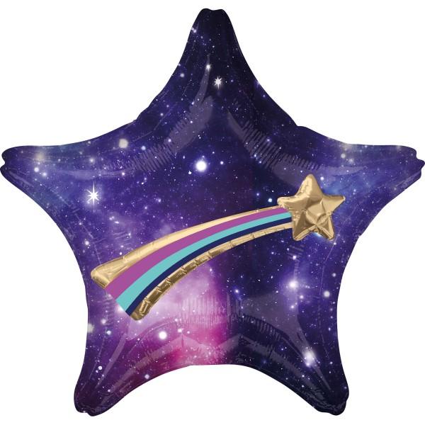 Galaxie Sternschnuppen Folienballon