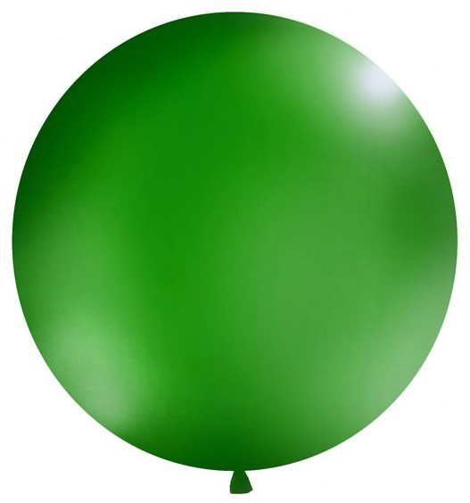 XXL Green Balloon 1m