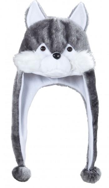 Wolfsmütze Mit Langen Bommeln