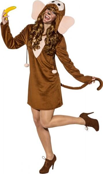 Crazy Monkey kostuum voor dames