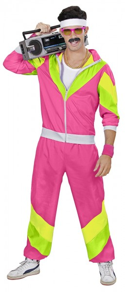 Pink funky jogging suit
